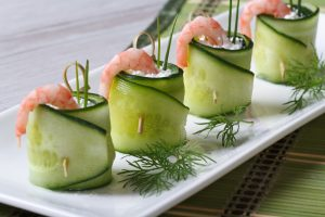 Komkommer- Dille seizoenskaas